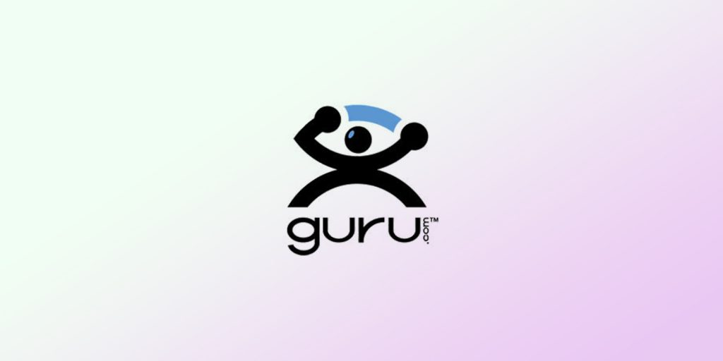 An image with guru.com logo