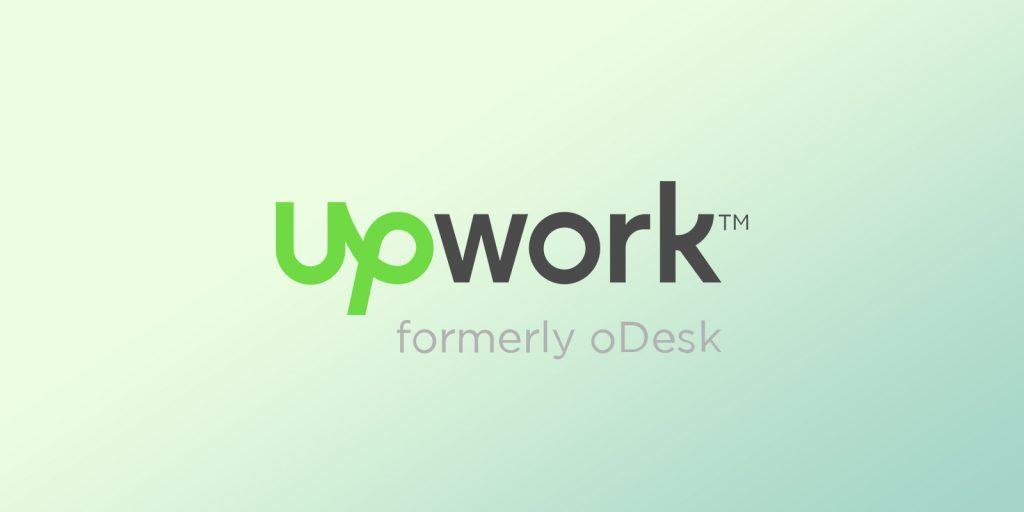"""An image with freelancing platform """"UpWork"""" logo"""