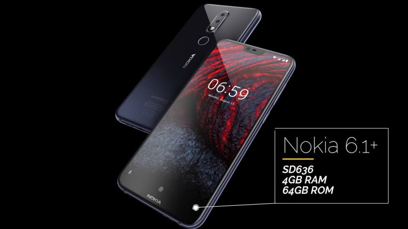 Nokia 6.1 Plus launched in Pakistan