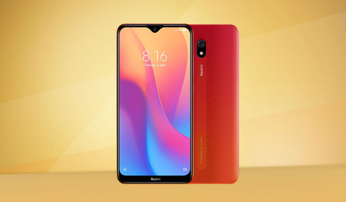 Redmi 8A in Sunset Red