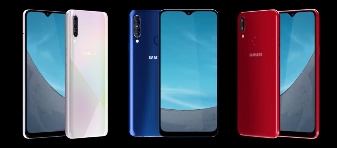 Samsung Galaxy new A-series